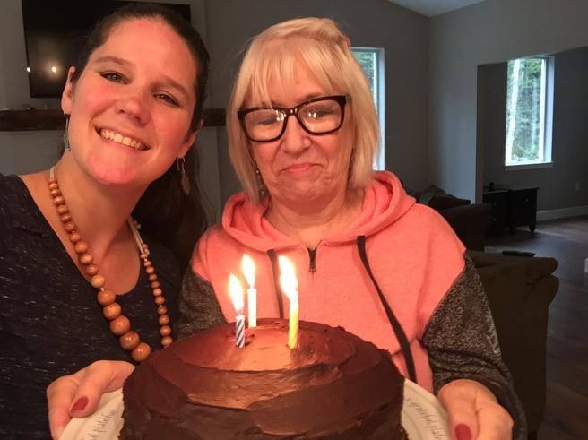 AUG moms birthday