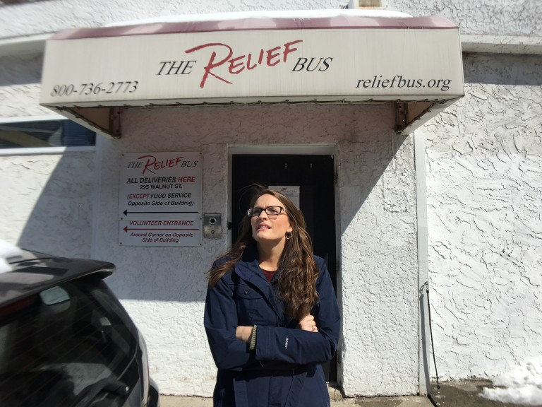 MARCH joelle relief bus front door