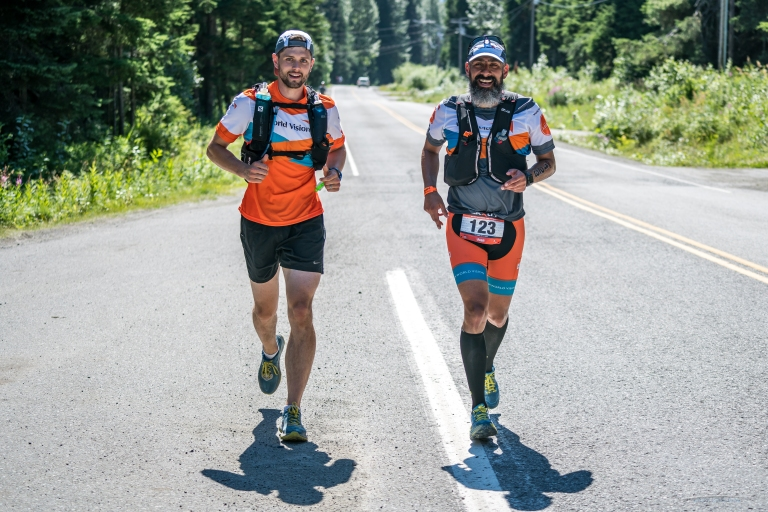 Jimmy and Juampa Mile 4-5