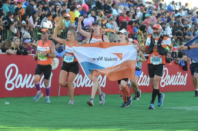 Near the finish Line - 16:20 pm