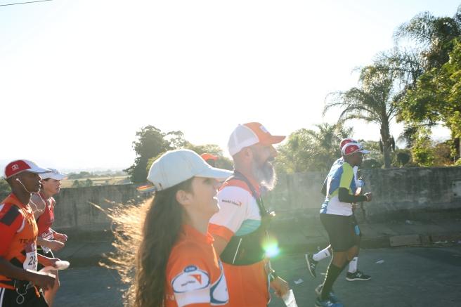 Less than 10 kilometers to the finish